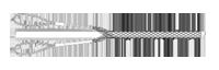 Поддерживающий кабельный чулок с двумя петлями
