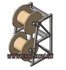 Стеллаж кабельный СКБ 1,6-2