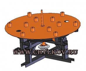 Стойка размотки барабанов СКБ 16-5Т