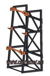 Стеллаж кабельный СКБ 2,3