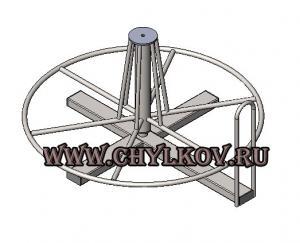 Стойка для размотки кабельных бухт СРБ-1
