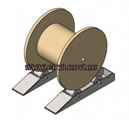 Ролики для размотки кабельных барабанов РБ 14-1,5